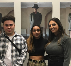 Barnet and Southgate College National Diploma in Photography students Max Hatami, Millen Kaushall and Antonia Christopher