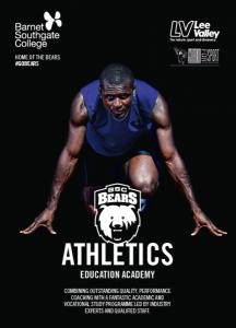 Athletics Academy Flyer