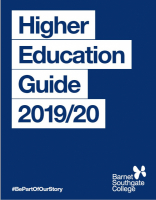 Barnet and Southgate College Higher Education Guide 2019-20