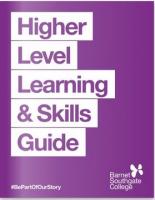 Higher Level Skills Guide