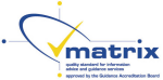 Matrix accreditation logo