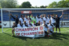 The Boreham Wood FC youth team celebrate their 'Champion of Champions' title last year