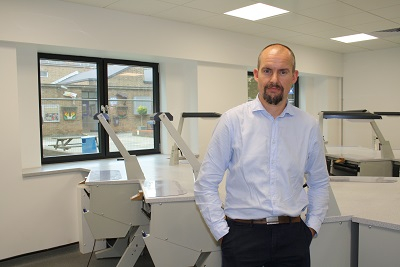 Adam Norris, dental laboratory owner