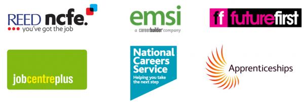 Careers advice logos