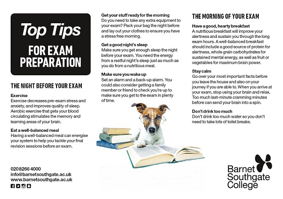 Exam revision tips