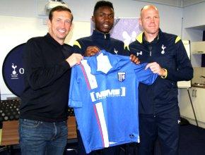 Emmanuel Osadebe signs for Gillingham
