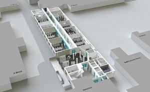Dentistry Centre 3D plan