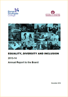 Equality and Diversity report