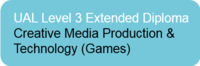 L3 Extended Diploma in Creative Media Production UAL& Technology (Games)