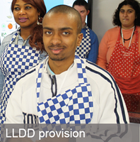 LLDD provision at Barnet and Southgate College